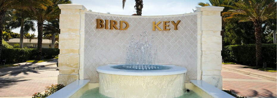 Entrance to Bird Key